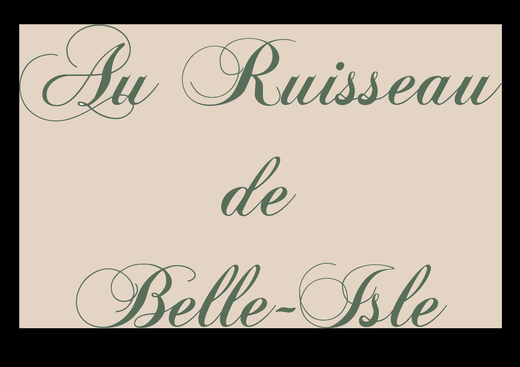 Au Ruisseau de Belle-Isle